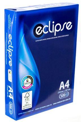 PAPEL A4 ECLIPSE EXTRA BRANCO Caixa 5x500fl
