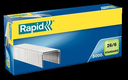 Agrafes Rapid 26/6 - Caixa 5000
