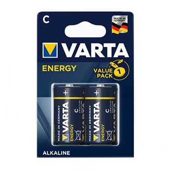 Pilhas Alcalinas Varta LR14 - 1.5V (C) Pack 2