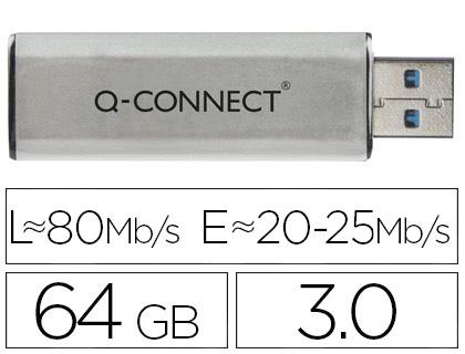 PEN DRIVE Q-CONNECT KF16371 - 75567  64GB 3.0