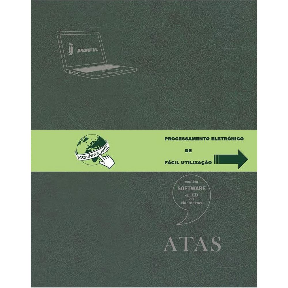 LIVROS ACTAS JUFIL - A4 LASER 60FL