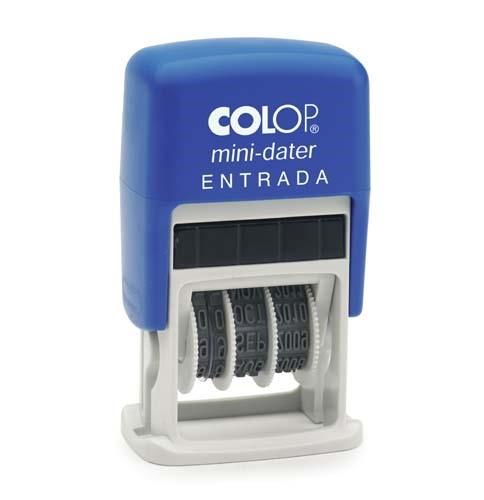 DATADOR BORRACHA COLOP MINIDATER S160/L AUTO TINT. - ENTRADA