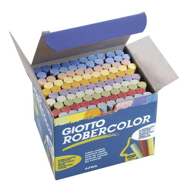 GIZ ROBERCOLOR GIOTTO 539000 COR SORTIDO C/100