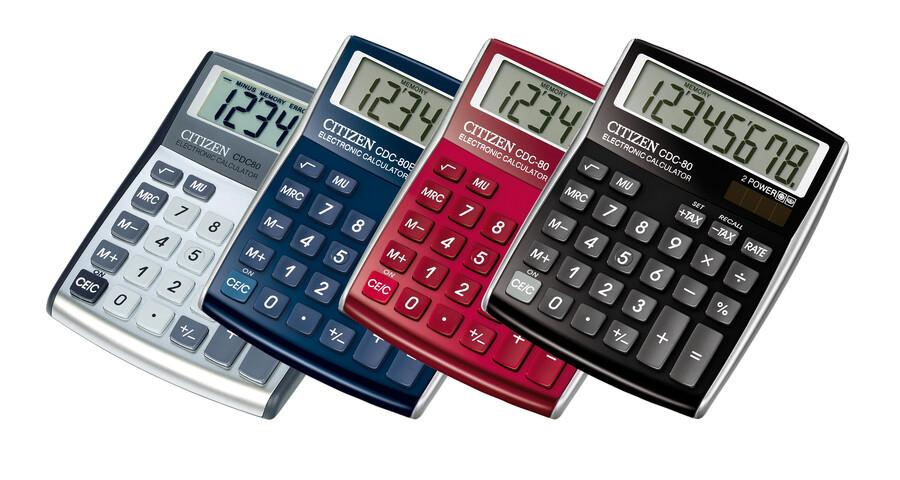Maquinas Calcular Citizen CDC-80 - 8 digitos
