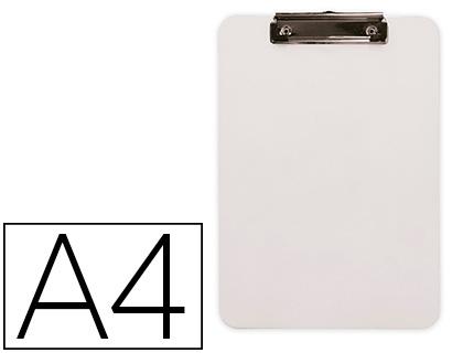 PRANCHETA PLASTICO PORTA NOTAS A4 KF11245 BRANCO 2,5mm 155960