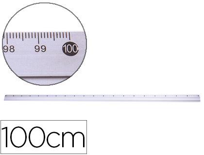 REGUAS METALICA ALUMINIO Q. KF16823 C/100cm 77830