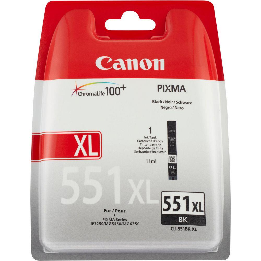 TINTEIROS CANON CLI551BK XL PRETO
