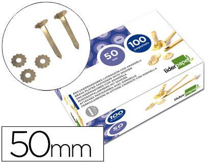 ATACHES Nº10 - CAIXA 100 (50mm) 02843 PLANO COM ANILHA